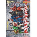 JUSTICE LEAGUE N°1 COMBO PACK DC RELAUNCH