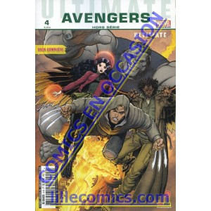 ULTIMATE AVENGERS HORS SÉRIE 4. ULTIMATE X. OCCASION. LILLE COMICS.