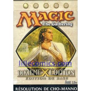 STARTER MAGIC BLANC. DIXIEME EDITION. RESOLUTION DU CHO-MANNO.