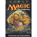STARTER MAGIC NOIR. 10EME EDITION. DIXIEME EDITION. TYRANNIE DE L'INCARMAL.