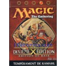 STARTER MAGIC ROUGE. 10EME EDITION. DIXIEME EDITION. TEMPERAMENT DE KAMAHL.