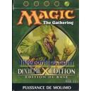 STARTER MAGIC VERT. 10EME EDITION. DIXIEME EDITION. PUISSANCE DU MOLINO.