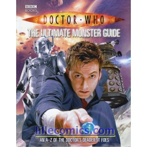 DOCTOR WHO THE ULTIMATE MONSTER GUIDE HC.