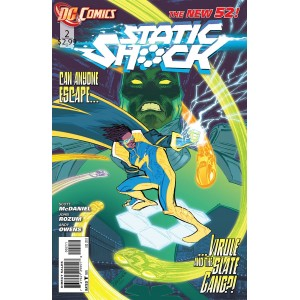 STATIC SHOCK 2. DC RELAUNCH (NEW 52)