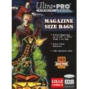 MAGAZINES BAGS. POCHETTES DE PROTECTION POUR MAGAZINES & COMICS.