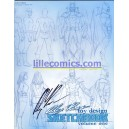 ALEX ROSS TOY DESIGN SKETCHBOOK VOL.1 SIGNED ROSS.