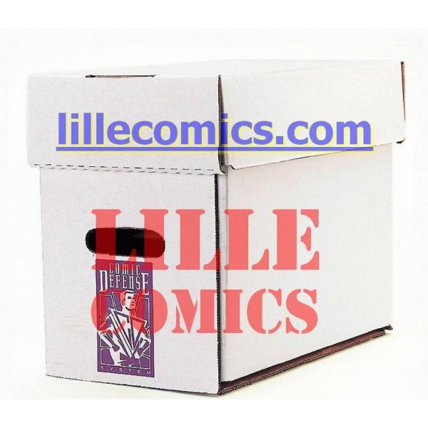 short comics box boite de rangement pour comics us ou vf. Black Bedroom Furniture Sets. Home Design Ideas