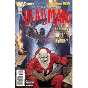 DC UNIVERSE PRESENTS 3. DEADMAN. DC RELAUNCH (NEW 52)