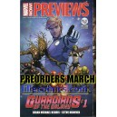 MARCH PREORDERS. PREVIEWS DIAMOND & MARVEL. NEWS US.