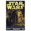 STAR WARS 1. OBI WAN. BOBA FETT. DEATH STAR. COVER B. NEUF.