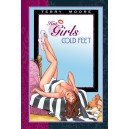 TERRY MOORE. HOT GIRLS COLD FEET SKETCH BOOK. ABSTRACT STUDIO.