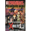 APRIL COMICS PREORDERS. PREVIEWS DIAMOND & MARVEL.