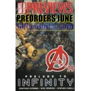 PREVIEWS DIAMOND 295. MARVEL PREVIEWS 9. PRE SALES FOR JUNE 2013. PREORDERS.