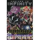 MARVEL PREVIEWS 10. PRE SALES JULY 2013. PREORDERS.