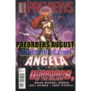 MARVEL PREVIEWS 11. PRE SALES AUGUST 2013. PREORDERS.