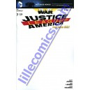 JUSTICE LEAGUE OF AMERICA 7. VARIANTE BLANK . TRINITY OF WAR. DC RELAUNCH (NEW 52)
