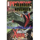 PREVIEWS MARVEL. PREORDERS NOVEMBER.