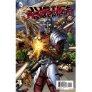 JUSTICE LEAGUE OF AMERICA 7-1 DEADSHOT. COVER 3D. FIRST PRINT.