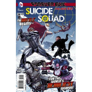 SUICIDE SQUAD 24. DC RELAUNCH (NEW 52).