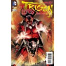 TEEN TITANS 23-1 TRIGON. COVER 3D. FIRST PRINT.