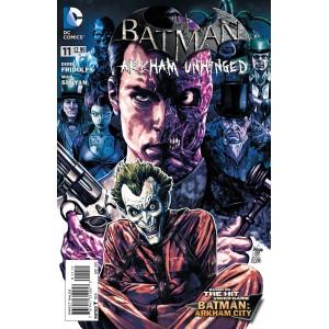 BATMAN ARKHAM UNHINGED 11. DC COMICS.