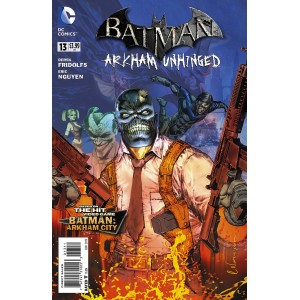 BATMAN ARKHAM UNHINGED 13. DC COMICS.
