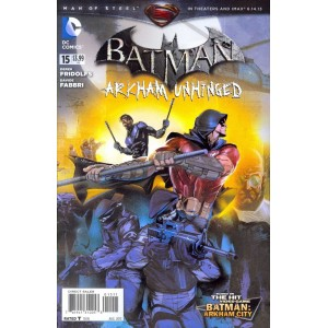 BATMAN ARKHAM UNHINGED 15. DC COMICS.