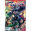 JUSTICE LEAGUE N°5 COMBO-PACK. DC RELAUNCH (NEW 52)