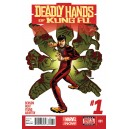 DEADLY HANDS OF KUNG FU 1. MARVEL NOW!