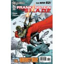 FRANKENSTEIN, AGENT OF SHADE N°6. DC RELAUNCH (NEW 52)