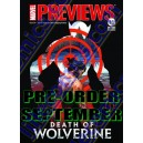 DIAMOND PREVIEWS 310. MARVEL PREVIEWS 24. PRE-ORDER SEPTEMBER 2014. LILLE COMICS. PRECOMMANDES.