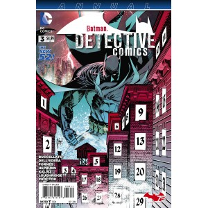 BATMAN DETECTIVE COMICS ANNUAL 3. DC RELAUNCH (NEW 52).