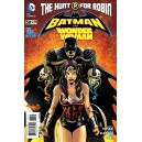 BATMAN AND ROBIN 30. BATMAN AND WONDER WOMAN 30.  DC RELAUNCH (NEW 52).