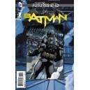 BATMAN FUTURES END 1. 3-D MOTION COVER. DC NEWS 52.