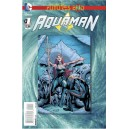 AQUAMAN FUTURES END 1. 3-D MOTION COVER. DC NEWS 52.