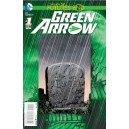 GREEN ARROW FUTURES END 1. 3-D MOTION COVER. DC NEWS 52.