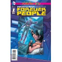 INFINITY MAN AND THE FOREVER PEOPLE FUTURES END 1. 3-D MOTION COVER. DC NEWS 52.