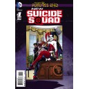 NEW SUICIDE SQUAD FUTURES END 1. 3-D MOTION COVER. DC NEWS 52.