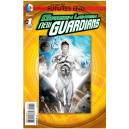 GREEN LANTERN NEW GUARDIANS FUTURES END 1. 3-D MOTION COVER. DC NEWS 52.