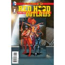 RED HOOD AND THE OUTLAWS FUTURES END 1. 3-D MOTION COVER. DC NEWS 52.