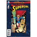 SUPERGIRL FUTURES END 1. 3-D MOTION COVER. DC NEWS 52.