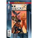 TEEN TITANS FUTURES END 1. 3-D MOTION COVER. DC NEWS 52.