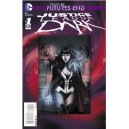 JUSTICE LEAGUE DARK FUTURES END 1. 3-D MOTION COVER. DC NEWS 52.