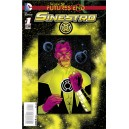 SINESTRO FUTURES END 1. 3-D MOTION COVER. DC NEWS 52.