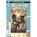 AQUAMAN AND THE OTHERS FUTURES END 1. 3-D MOTION COVER. DC NEWS 52.