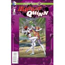 HARLEY QUINN FUTURES END 1. 3-D MOTION COVER. DC NEWS 52.