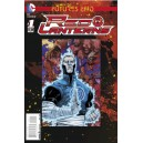 RED LANTERNS FUTURES END 1. 3-D MOTION COVER. DC NEWS 52.
