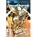FRANKENSTEIN, AGENT OF SHADE N°7. DC RELAUNCH (NEW 52)