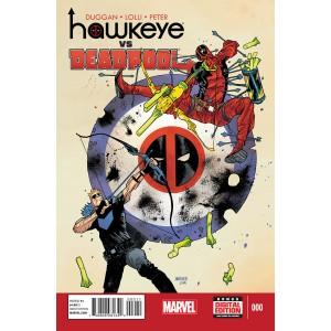 HAWKEYE VS DEADPOOL 0. MARVEL NOW!