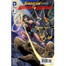 SENSATION COMICS 1. FEATURING WONDER WOMAN. DC RELAUNCH (NEW 52).